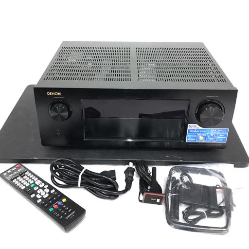美品 DENON AVR-X4100W AVアンプ リモコン付属 オーディオ機器 2014年製 デノン