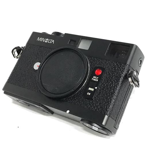 MINOLTA CLE レンジファインダー フィルムカメラ ブラック ボディ ミノルタ