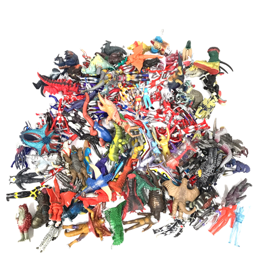 1円 バンダイ ウルトラマン コスモス コロナモード ガイア 他 レジェンド 含む ウルトラ怪獣 ソフビ 大量 セット
