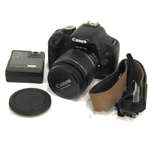 1円 Canon EOS Kiss X3 デジタル一眼レフカメラ ボディ EF-S 18-55mm 1:3.5-5.6 Ⅱ USM レンズ 充電器 セット
