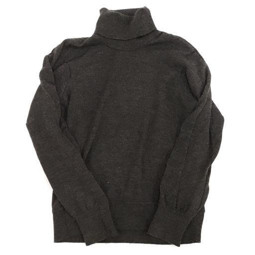 1円 キャロルクリスチャンポエル 48 タートルネック ニット セーター ウール メンズ CAROL CHRISTIAN POELL