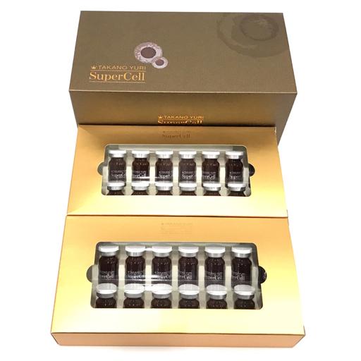 新品同様 たかの友梨 スーパーセル 美容液 5ml × 30本入り 化粧品 コスメ 未使用品
