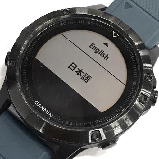 1円 GARMIN FENIX5 日本版 マルチスポーツ対応プレミアムGPSウォッチ 動作確認済み 付属品有り ガーミン