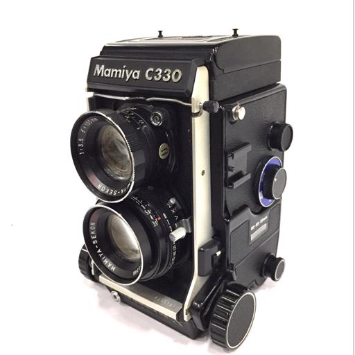 MAMIYA C330 Professional S 二眼レフカメラ MAMIYA-SEKOR DS 105mm F3.5 動作確認済 マミヤ
