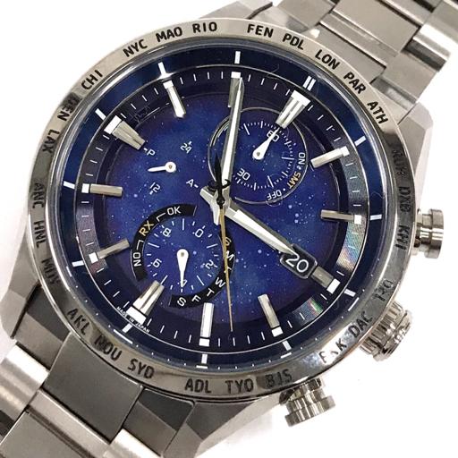 1円 シチズン 腕時計 パーフェックス 3000 AT8181-71L スーパーチタニウム エコドライブ メンズ 稼働 付属品有り
