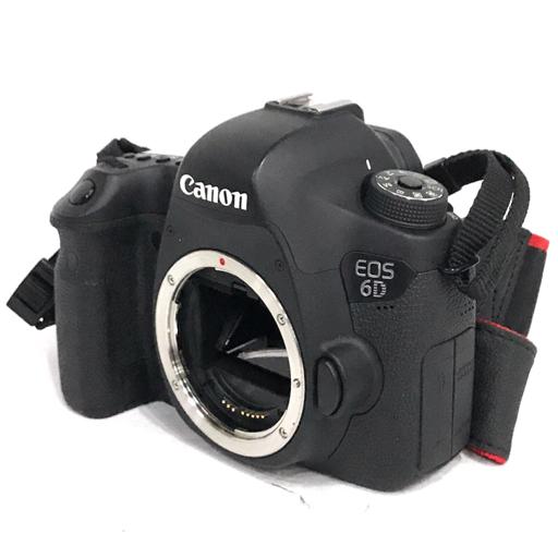 1円 Canon EOS 6D デジタル一眼レフカメラ ボディ 説明書 充電器 付属 キャノン