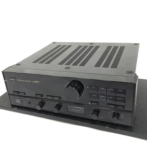 Sansui AU-α607 プリメインアンプ ブラック オーディオ機器 サンスイ