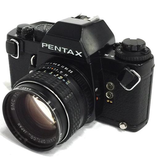 PENTAX LX フィルムカメラ ブラック ボディ 1:1.4/50 レンズ ペンタックス