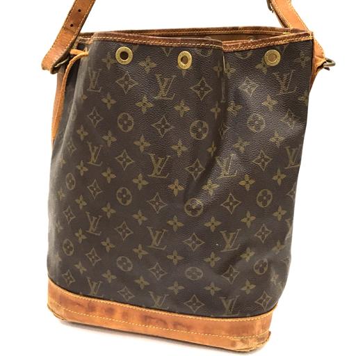 ルイヴィトン モノグラム ノエ 巾着 ショルダーバッグ レディース 鞄 かばん ジャンク品 LOUIS VUITTON