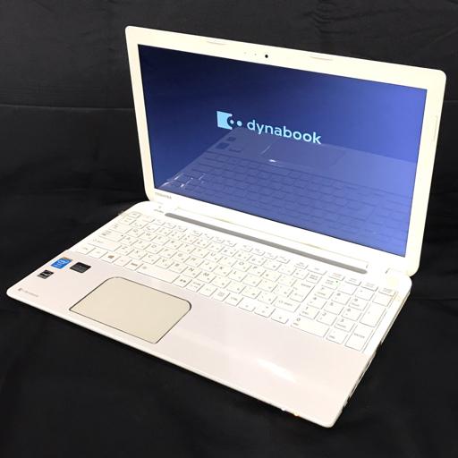 TOSHIBA dynabook T554/67KW 15.6型 ノートPC Win10 Core i7-4700MQ 2.40GHz 16GB 1TB 動作品 付属品有り 東芝