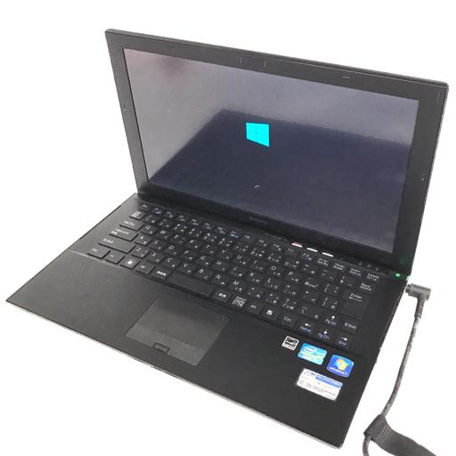 SONY VAIO VPCZ21AJB 13.1型 ノートPC Win10 Pro Core i7-2620M 2.70GHz 4GB 128GB 通電確認済 付属品有り ソニー