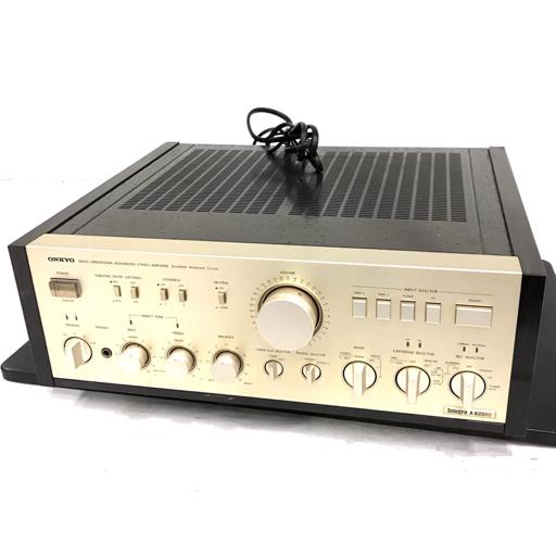 1円 ONKYO Integra A-820RS プリメインアンプ オンキョー 動作品 オーディオ機器