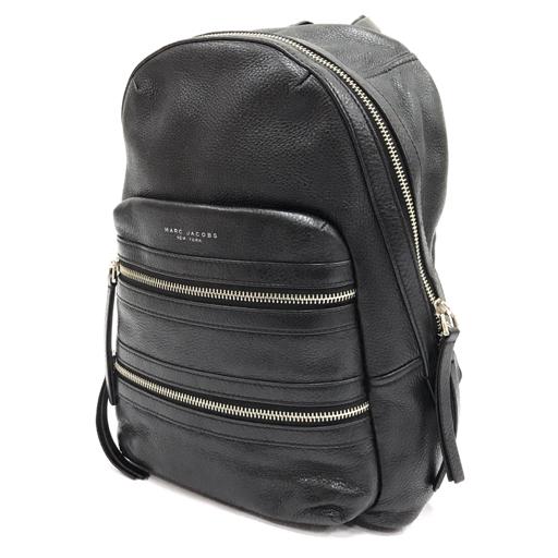 マークジェイコブス レザー リュックサック バックパック レディース 黒 ブラック かばん 鞄 MARC JACOBS