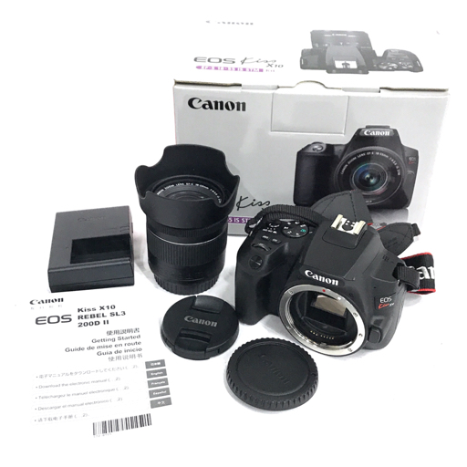 CANON EOS Kiss X10 EF-S 18-55IS STM デジタル一眼レフ カメラ レンズ