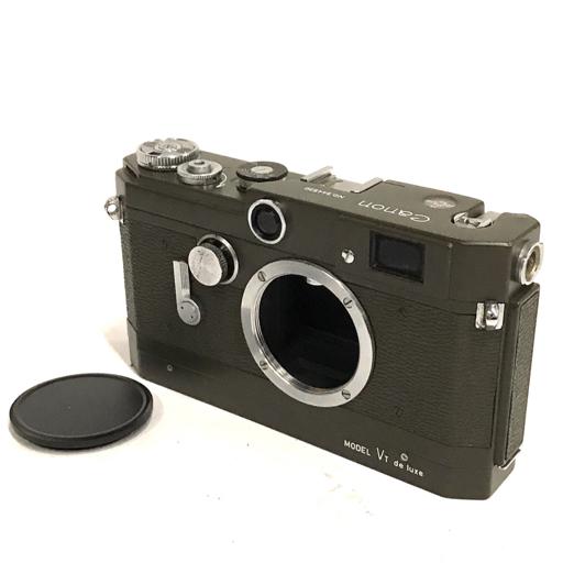 Canon MODEL VT de luxe オリーブ レンジファインダー フィルムカメラ ボディ