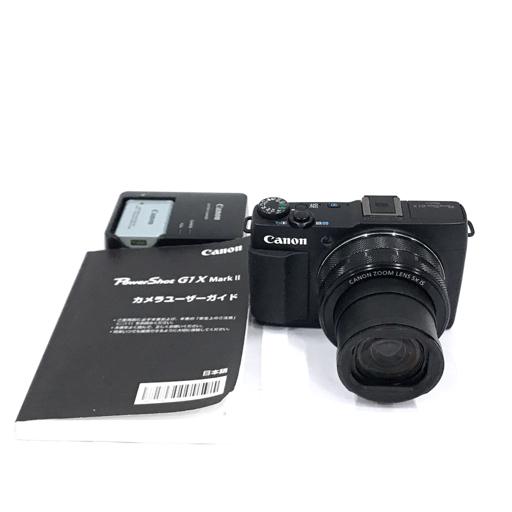 Canon PowerShot G1 X MarkII コンパクトデジタルカメラ 動作品 12.5-62.5mm F2-3.9 付属品有り キャノン
