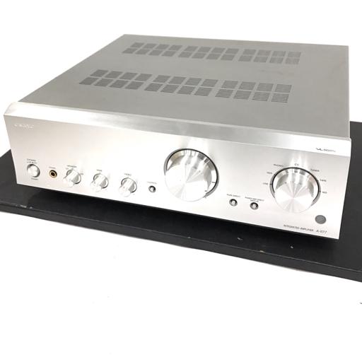 1円 ONKYO A-977 インテグレーテッドアンプ オーディオ機器 動作確認済み オンキョウ