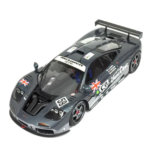美品 TSM MODEL 1/18 マクラーレン F1 GTR #59 1995 ルマン 24h ウィナー 限定3000pcs TSM131805 ミニカー 箱付