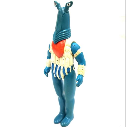 ブルマァク 円谷プロ ウルトラ怪獣 ペガッサ星人 ソフビ 全長36cm ウルトラセブン レトロ アンティーク