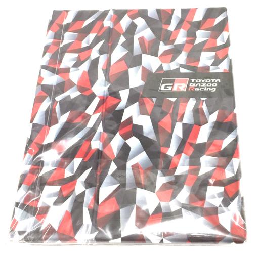 美品 GR トヨタ ガズー レーシング オリジナル 車検証入れ 23×17.7cm 未使用品