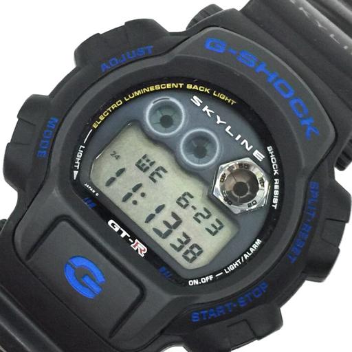カシオ 腕時計 G-SHOCK DW-8400 ニッサン スカイライン GT-R MUDMAN デジタル クォーツ メンズ 稼働 黒 CASIO