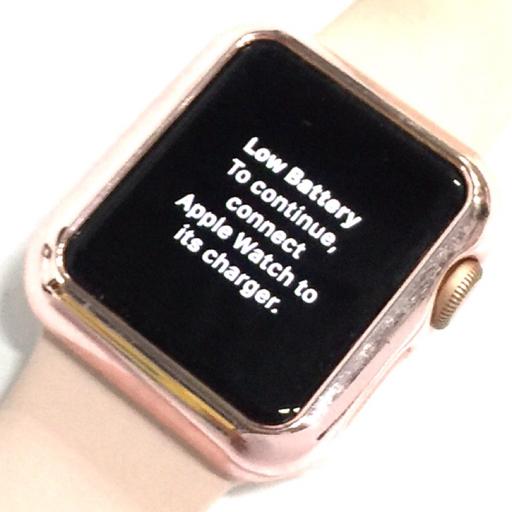 Apple Watch Series3 GPS+Cellular 38mm gold aluminum ピンクサンド スポーツバンド アップルウォッチ 動作品