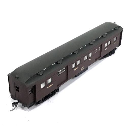SANGO 国鉄 オハニ30 旧型客車 郵便荷物車 HOゲージ 鉄道模型 付属品有り 珊瑚模型店