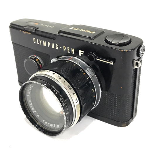 OLYMPUS PEN FT フィルムカメラ ボディ G.Zuiko AUTO-S 1:1.4 40mm オリンパス