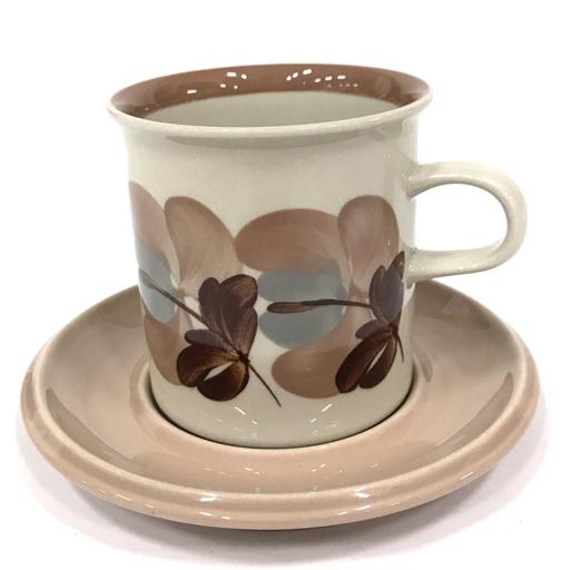 アラビア Koralli カップ & ソーサー 花柄 フラワー ピンクブラウン 食器 1客 ARABIA