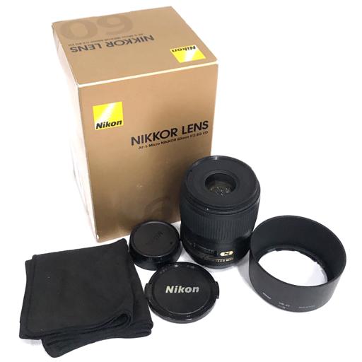 1円 Nikon N AF-S NIKKOR 60mm 1:2.8 G ED オートフォーカス カメラ レンズ ニコン
