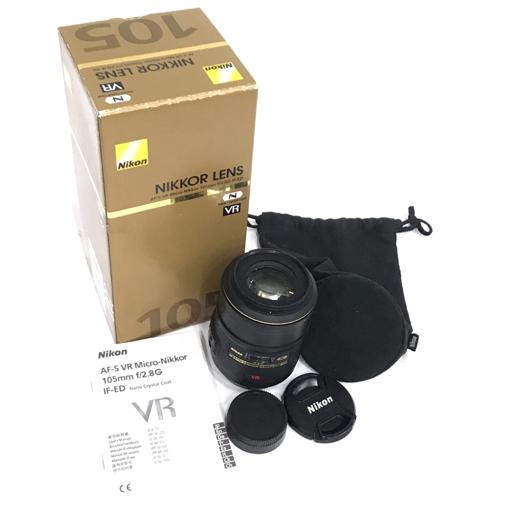 1円 Nikon AF-S MICRO NIKKOR 105mm 1:2.8G ED カメラレンズ ニコン ニッコール 動作確認済