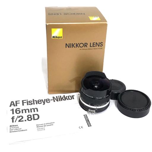 Nikon Fisheye-NIKKOR 16mm 1:2.8 魚眼レンズ フィッシュアイ ニコン