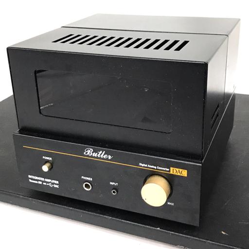1円 Butler Vacuum 6W DAC 真空管プリメインアンプ USB DAC搭載 動作品 バトラー