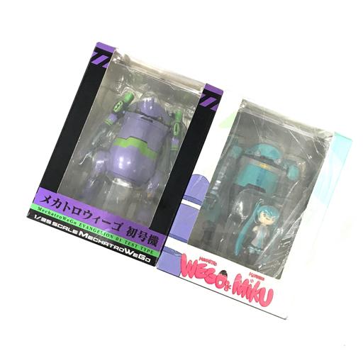モデリズム メカトロウィーゴ 児童専用 初号機 他 初音ミク 等 フィギュア ホビー 玩具 おもちゃ 箱付き 計2点 セット