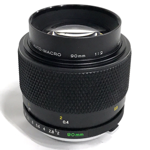 OLYMPUS ZUIKO AUTO-MACRO 90mm F2 カメラレンズ オリンパス 付属品有り