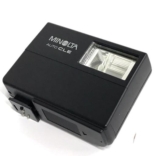 MINOLTA AUTO CLE カメラ ストロボ フラッシュ 動作品 ミノルタ 付属品有り